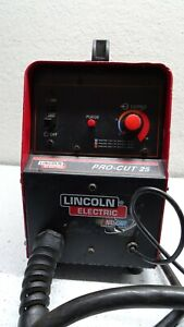 Plasma cutter lincoln 25 pro-cut USED electric