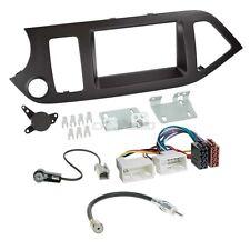 Kia Picanto TA dès 11 2-DIN radio de voiture Set d'installation Câble adaptateur