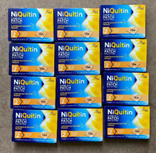 12 Niquitin Step 2 14mg 24 Hour Clear Patches 7 Days Brand New £5.00 A Pack