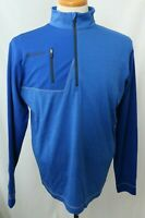 New Columbia Omni-Heat Regulation Blue Thermal Insulated Pullover Jacket Men's M