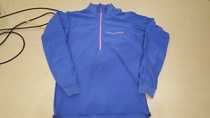 Patagonia Vintage 1990 Cold Weather Gear 1/4 Zip Top Men's Unisex Large USA Made