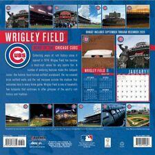Chicago Cubs Wrigley Field Stadium Wall Calendar