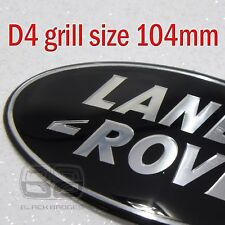 Land Rover Discovery 4 parrilla insignia oval frontal grande Más Grande Negro Supercharged