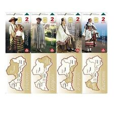 Latvia. Complete Set: National Costumes
