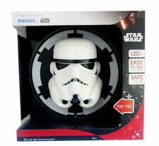 Large Philips Star Wars Stormtrooper 3D LED Wall Night Light Batteries Included
