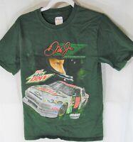 Chase Authentics Nascar T-Shirt Dale Earnhardt Jr Diet Mountain Dew Car #88 Sm
