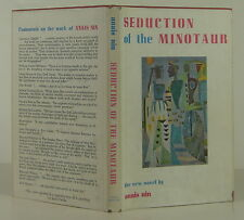 ANAIS NIN Seduction of the Minotaur INSCRIBED FIRST EDITION