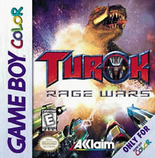 Turok Rage Wars GBC New Game Boy Color