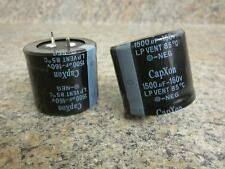One Pair of 160V 1500uF Capacitors 35mm x 32mm