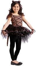 Ballerina Leopard Child Girls Glovelets Costume Tutu Fancy Dress Funworld