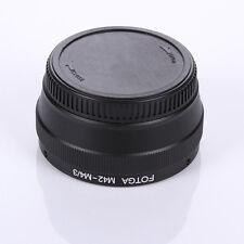 M42 lens to Micro 4/3 M4/3 Adapter F Panasonic Lumix DMC GF7 GF6 GF5 GM5 GH4 GX7