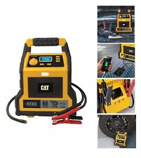 CAT 1000 Peak Amp Rechargeable 4 in 1 Jump Starter & Compressor with USB Port