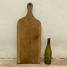ANTIQUE VINTAGE FRENCH BREAD OR CHOPPING CUTTING BOARD WOOD 1306209