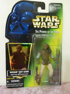 Kenner Star Wars Power Of The Force Weequay Skiff guard action figure hasbro