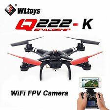 Genuine WLTOYS Q222K 2.4G Wifi FPV Drone 2MP Camera Quadcopter Helicopter Plane