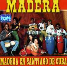 "MUSIC OF VENEZUELA - Grupo Madera ""Madera En Santiago De Cuba"" * NEW SEALED CD"
