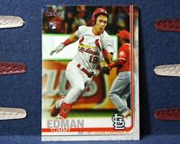 2019 Topps Update #US84 Tommy Edman RC - Cardinals Rookie