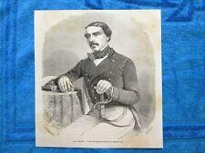 Gravure Année 1862 - Henri Lambert