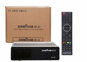 ZGEMMA H9.2S mit 2 * DVB-S2X 4K UHD 2160p Twin Tuner FTA Satelliten Wifi