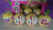 LOL Surprise Balls Pets Series 3 Lot of 4 New Sealed Free Shipping
