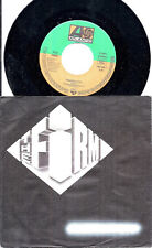 """The Firm Radioactive German 45 7"""" single +Picture Sleeve Germany +Together"""