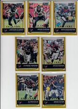 2016 Score Arian Foster Gold Zone Houston Texans Miami Dolphins /99