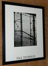 Paul Thompson photo - Tide print, B&W beach print  - 20''x16'' frame