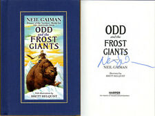 Neil Gaiman SIGNED AUTOGRAPHED Odd and the Frost Giants HC 1st Edition 1st Print