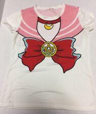 Sailor Moon japanese sailor bow star moon teesT-shirt Size L Cosplay US Seller