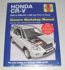 Reparaturanleitung Honda CRV / CR-V (Typ RD), Baujahre 2002 - 2006