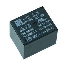 24 V Mini Relé SPDT de alimentación 15 A