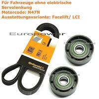 Keilrippenriemen-Satz Spannrolle BMW 3 E90 E91 92 93 316 318 320 d xd X1 E84 25d
