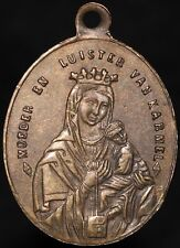 More details for 1879 | our lady of mount carmel religious dutch medal | medals | km coins