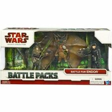 "Star Wars 3.75"" Legacy Battle Pack Assort Battle for Endor Return of the Jedi"