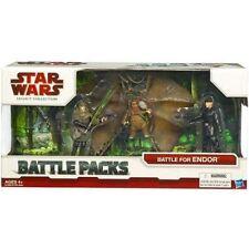 """Star Wars 3.75"""" Legacy Battle Pack Assort Battle for Endor Return of the Jedi"""
