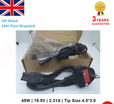 HP PAVILLION 15 N235sa Laptop Charger AC Adapter Power Supply Blue Tip 45w UK