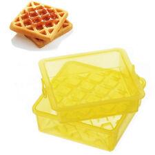Truyoo Microwave Waffle Maker Mold Plastic Box
