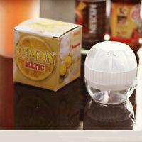 Manuell Entsafter Obst Saft Zitruspresse Orangensaftpresse aus Plastik und Gummi