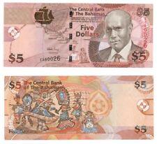 BAHAMAS - $5 Dollar Banknote - P.72 - UNC.