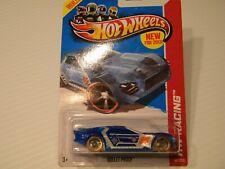 "HOT WHEELS Blue ""BULLET PROOF"" HW Racing 140/250 X-Racers"
