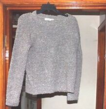 1 WOMANS GARAGE XS PULLOVER SWEATER BROWN