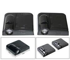 2X Car Door Led Welcome Laser Projector Logo Light Shadow Black For Acura (Fits: Acura Vigor)