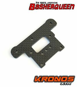 Basherqueen Carbon Fiber Steering Deck / Top Plate Team Corally Kronos XTR 3mm