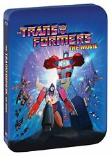 Transformers: The Movie 30th Anniversary Edition Steelbook Box / BluRay Set NEW!