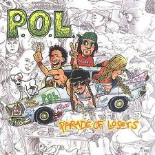 Parade of Losers P.O.L. MUSIC CD