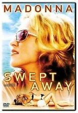 SWEPT AWAY DVD MADONNA BRAND NEW IN SHRINK WRAP THE DAY U PAY IT SHIPS