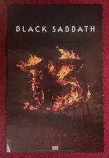 Music Poster Promo Black Sabbath ~ Lucky 13 ~ DS Double Sided