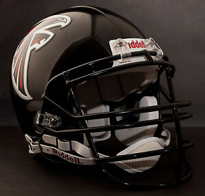 TONY GONZALEZ Edition ATLANTA FALCONS Riddell AUTHENTIC Football Helmet NFL