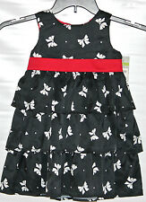 CARTER'S Playwear Sleeveless Summer Dressy-Casual Ruffled Tier Dress Size 6 NWT
