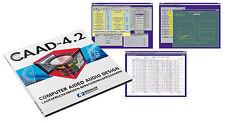 Loudspeaker Design & Crossover Calculator Software CD  -  Monacor CAAD 4.2   NEW